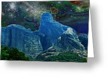 Fantastic Landscape Greeting Card by Augusta Stylianou