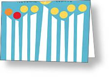 Festival Of Lights Greeting Card