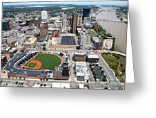 Fifth Third Field Toledo Ohio Greeting Card