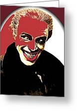 Film Homage Conrad Veidt The Man Who Laughs 1928-2013 Greeting Card