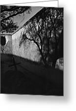 Film Noir Kim Novak Vertigo 1958 Graveyard Tumacacori Mission Tumacacori Arizona 1979-2008 Greeting Card