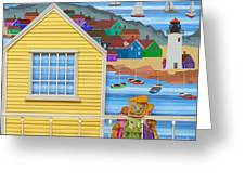 Finally Home Greeting Card by Anne Klar