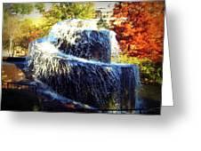 Finlay Park Fountain 3 Greeting Card