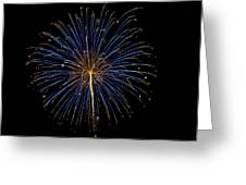 Fireworks Bursts Colors And Shapes Greeting Card