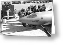 First Supersonic Aircraft, Bell X-1 Greeting Card