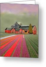 Flower Field Series Greeting Card