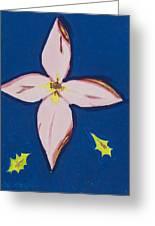 Flower Greeting Card by Melissa Dawn