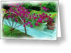 Flower Pot 2 Greeting Card