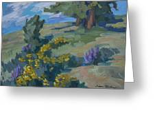 Flowering Meadow Greeting Card