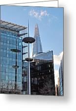 Focus On The Shard London Greeting Card