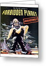 Forbidden Planet  Greeting Card by Silver Screen