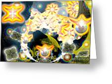 Forces Unite Ophanim Assemble Greeting Card