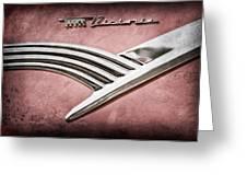 Ford Crown Victoria Emblem Greeting Card