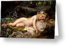 Forest Nymph Greeting Card