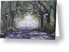 Forsythe Park Greeting Card