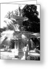Fountain Dance Greeting Card
