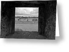 Framed Irish Landscape Greeting Card