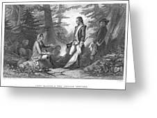 Francis Marion (1732?-1795) Greeting Card