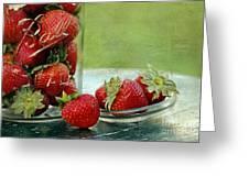 Fresh Berries Greeting Card by Darren Fisher