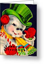 Frosty The Snowman Greeting Card