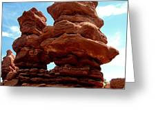 Garden Of The Gods Greeting Card by Claudette Bujold-Poirier