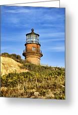 Gay Head Lighthouse Greeting Card by John Greim