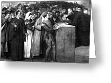 George Wishart (1513-1546) Greeting Card