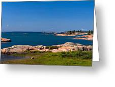Georgian Bay Coastline Greeting Card