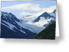 Glacier 2 Greeting Card