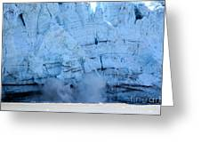 Glacier Collapse Greeting Card