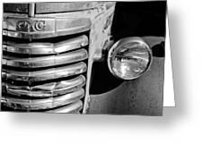 Gmc Truck Grille Emblem Greeting Card