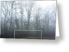 Goal Greeting Card by Bernard Jaubert