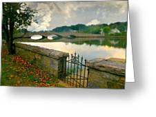 Gorham's Pond Greeting Card