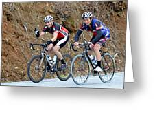 Gran Fondo Bike Ride Greeting Card