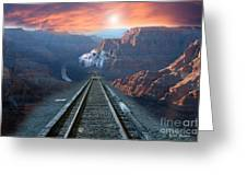 Grand Canyon Collage Greeting Card