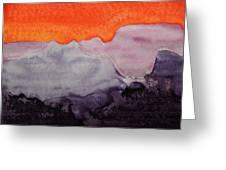 Grand Canyon Original Painting Greeting Card