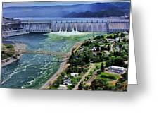 Grand Coulee Greeting Card