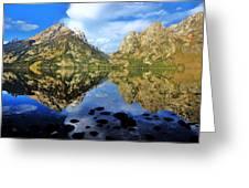 Grand Teton Mirror Greeting Card