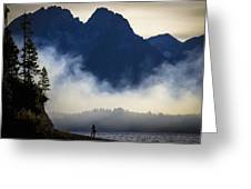 Grand Teton Sunset Greeting Card