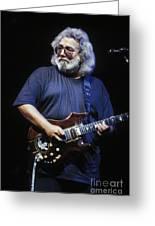 Grateful Dead - Jerry Garcia Greeting Card