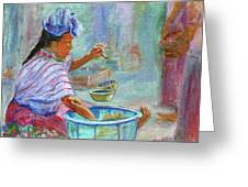 Guatemala Impression Iv Greeting Card