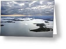 Gulf Of Morbihan, Vannes Greeting Card