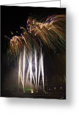 Guy Fawkes Night At Gloucester Quay. Greeting Card