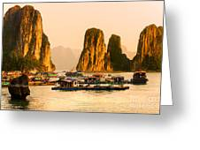 Halong Bay - Vietnam Greeting Card