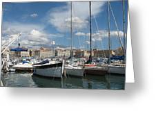 Harbor Marseille Greeting Card