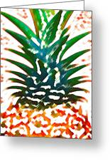Hawaiian Pineapple Greeting Card
