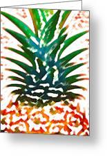 Hawaiian Pineapple Greeting Card