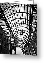 Hay's Galleria Roof Greeting Card by Elena Elisseeva
