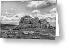 Haytor Rock Greeting Card
