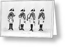 Hessian Soldiers Greeting Card